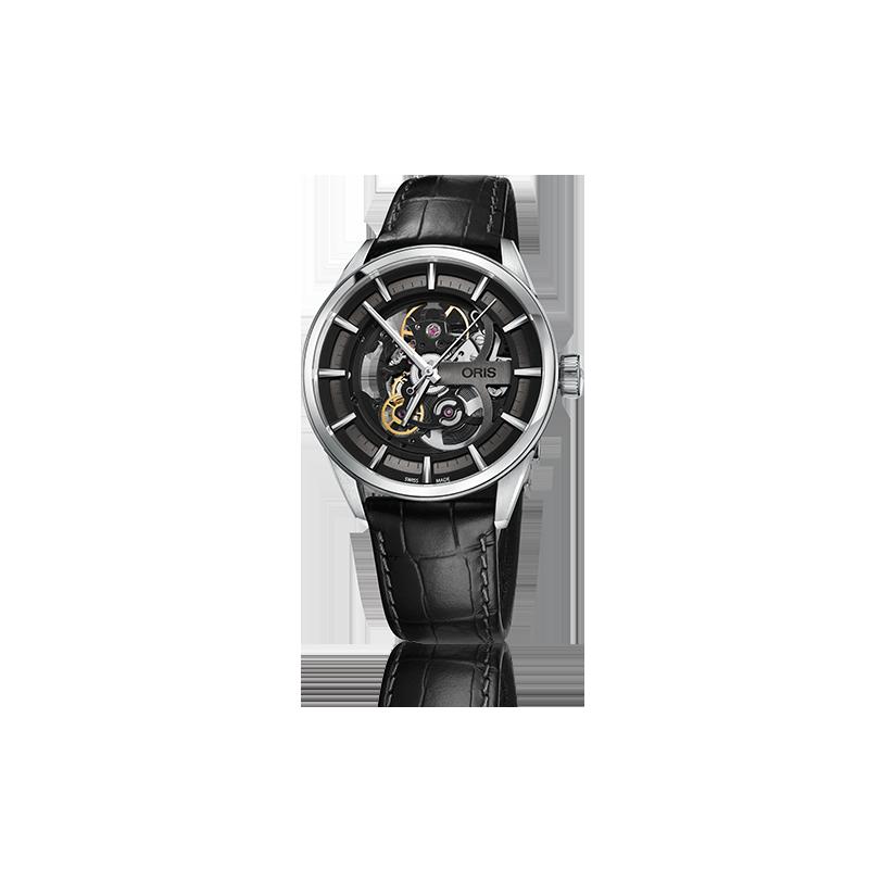 oris artix skeleton oris swiss made watches 01 734 7714 40. Black Bedroom Furniture Sets. Home Design Ideas