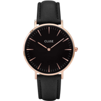 CLUSE LA BOHÈME ROSE GOLD BLACK/BLACK