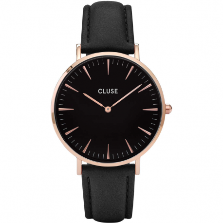 CLUSE LA BOHÈME ROSE GOLD BLACK/BLACK