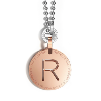 REBECCA - NECKLACE WITH INITIAL