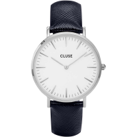 CLUSE LA BOHÈME SILVER WHITE/MIDNIGHT BLUE