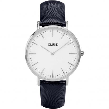 CLUSE LA BOHÈME SILVER WHITE/MIDNIGHT BLUE