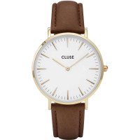 CLUSE LA BOHÈME GOLD WHITE/BROWN