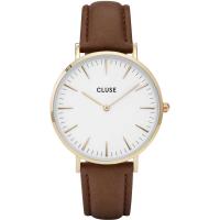 CLUSE LA BOHÈME GOLD WHITE/BROWN