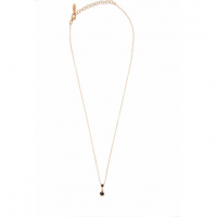 RUE DES MILLE -  NECKLACE WITH ONE BLACK PENDANTS AND DADO
