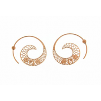 RUE DES MILLE - SMALL SPIRAL EARRINGS
