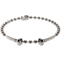 REBECCA MAN - SILVER BRACELET WITH TWO NAILS