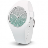 ICE WATCH - ICE LO WHITE TURQUOISE SMALL (S)