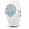 ICE WATCH - ICE LO WHITE BLUE MEDIUM