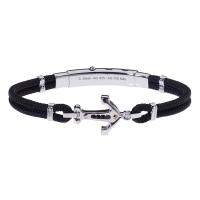 ROSSO AMANTE Ego Silver Bracelet