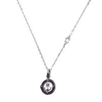 ROSSO AMANTE Ego Silver necklace
