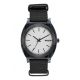NIXON TIME TELLER Acetate , 40 mm, All Black / Silver