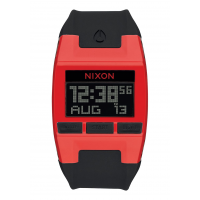 NIXON  Comp , 38 mm, Red / Black