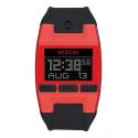 NIXON  Comp , 38 mm, Red / Black