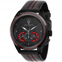 MASERATI - Traguardo watch, Man, Black
