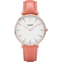 CLUSE - LA BOHÈME ROSE GOLD WHITE/FLAMINGO