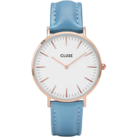 CLUSE - LA BOHÈME SILVER WHITE/NUDE