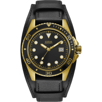 GUESS - ONLY TIME MAN WATCH CREW