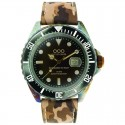 OUT OF ORDER  Camouflage Brown ø44 mm