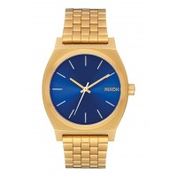 NIXON TIME TELLER All Gold / Blue Sunray , 37 MM