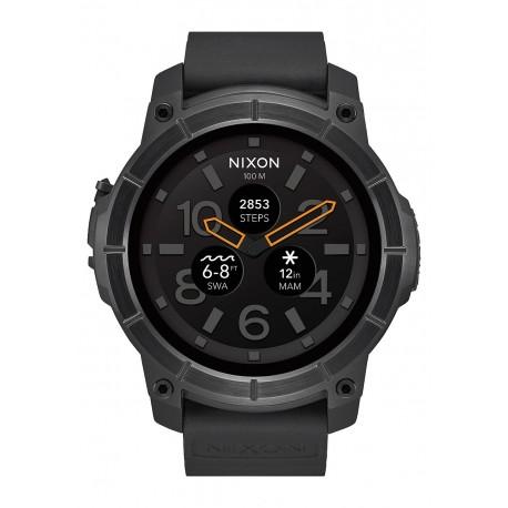 NIXON Mission 48 mm , All Black