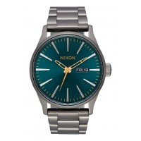 NIXON SENTRY SS Gunmetal / Spruce / Brass, 42 MM