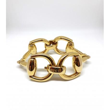Bracciale GUCCI Horsebit Grande in oro giallo 18kt