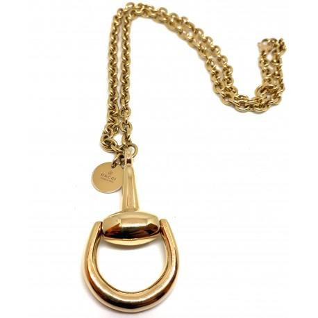 Collana GUCCI Horsebit in oro giallo 18kt
