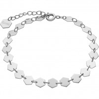 CLUSE - ESSENTIELLE CHAIN BRACELET ALL HEXAGONS