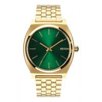 NIXON TIME TELLER GOLD / GREEN SUNRAY , 37 MM
