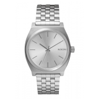NIXON TIME TELLER ALL SILVER , 37 MM