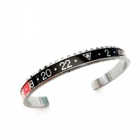 BRACELET SPEEDOMETER OFFICIAL BLACK/RED RING
