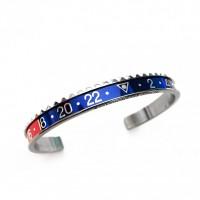 BRACELET SPEEDOMETER OFFICIAL BLUE/RED RING