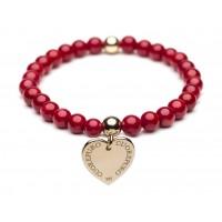 Cuorepuro - Elastic Heart Bracelet
