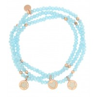 RUE DES MILLE -  GIPSY CHIC VOL. 2 BRACELET WITH STONES AND PENDANTS