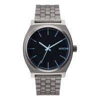 NIXON TIME TELLER GUNMETAL / BLUE CRYSTAL, 37 MM