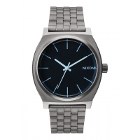 NIXON TIME TELLER GUNMETAL / BLUE CRYSTAL , 37 MM