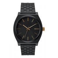 NIXON TIME TELLER MATTE BLACK / GOLD, 37 MM