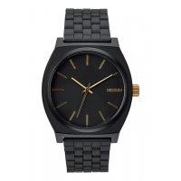 NIXON TIME TELLER MATTE BLACK / GOLD , 37 MM