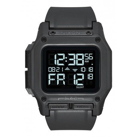 NIXON Regulus , 46 mm, All Black