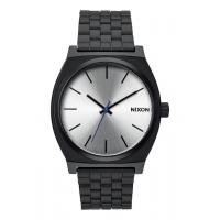 NIXON TIME TELLER BLACK / SILVER, 37 MM