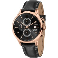 MASERATI Gentleman Chrono Black/Rose gold