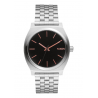 NIXON TIME TELLER GRAY / ROSE GOLD , 37 MM