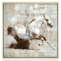 "Quadro""cavallo bianco"""