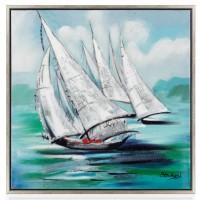 """Quadro """"la regata"""""""