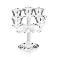 Crystal Candlestick with 5 flames