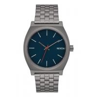 NIXON TIME TELLER ALL GUNMETAL / DARK BLUE, 37 MM