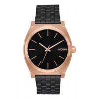 NIXON TIME TELLER BLACK / ROSE / BLACK, 37 MM