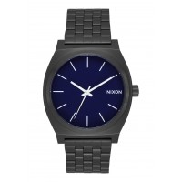 NIXON TIME TELLER All Black / Dark Blue, 37 MM