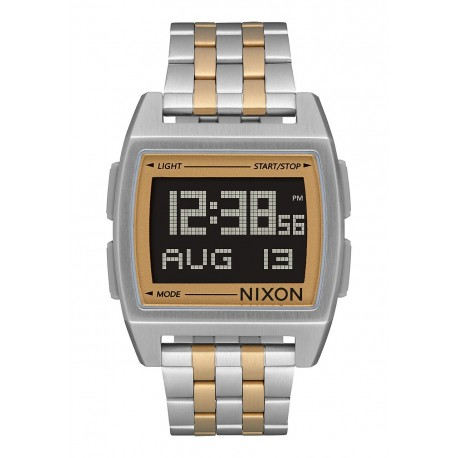 NIXON  Base, 38 mm, Silver / Light Gold